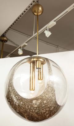 Italian Murano 1960s Blown Glass Globe Chandelier - 1815048