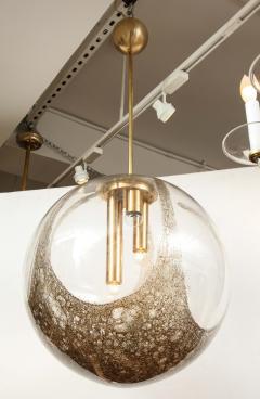 Italian Murano 1960s Blown Glass Globe Chandelier - 1815049