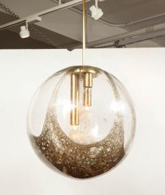 Italian Murano 1960s Blown Glass Globe Chandelier - 1815051