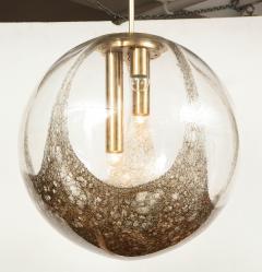 Italian Murano 1960s Blown Glass Globe Chandelier - 1815055