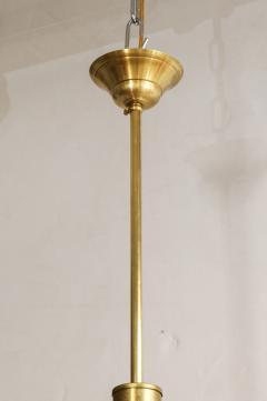 Italian Murano 1960s Glass Globe Chandelier - 1815385