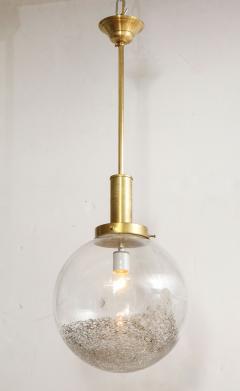 Italian Murano 1960s Glass Globe Chandelier - 1815386