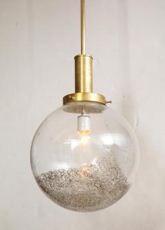 Italian Murano 1960s Glass Globe Chandelier - 1815388