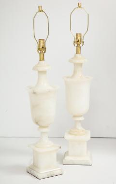 Italian NeoClassical Alabaster Lamps - 1240882