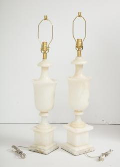 Italian NeoClassical Alabaster Lamps - 1240884