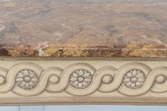 Italian Neoclassic Painted Parcel Gilt Console Centre Table Late 18th Century - 350151
