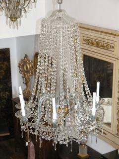 Italian Neoclassical Chandelier 19th Century - 620273