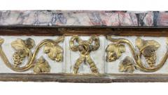 Italian Neoclassical Giltwood and Painted Console Table - 1568151