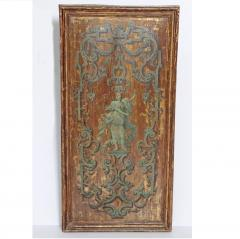Italian Neoclassical Paint and Parcel Gilt Panels Roman Goddesses Muses - 1935855