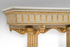 Italian Neoclassical Painted and Parcel Gilt Console Table - 717731