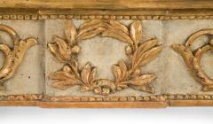 Italian Neoclassical Painted and Parcel Gilt Console Table - 1061906