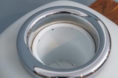 Italian Opacque Glass Table Lamp Jardiniere - 1345623