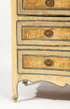 Italian Painted 3 Drawer Commode - 1581145