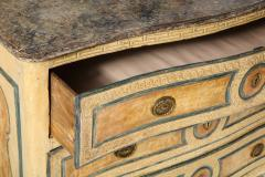Italian Painted 3 Drawer Commode - 1581149