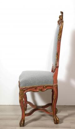 Italian Painted and Gilt Rococo Chair - 2013795