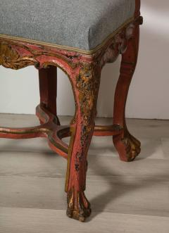 Italian Painted and Gilt Rococo Chair - 2013800