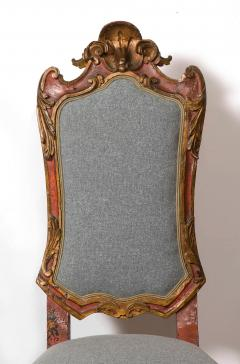 Italian Painted and Gilt Rococo Chair - 2013801