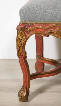 Italian Painted and Gilt Rococo Chair - 2013802