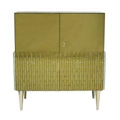 Italian Pair Of Golden Glass Sideboard - 820491