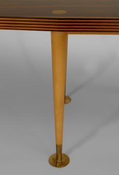Italian Post War Design 1950 60s Palisander Top Coffee Table - 443169