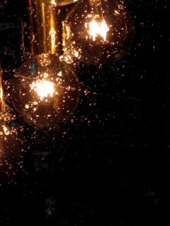 Italian Pulegoso Glass Brass Chandeliers Six Available - 1589542
