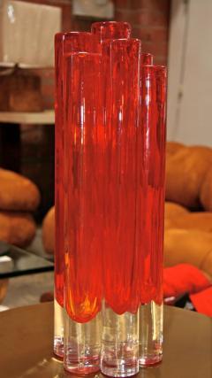 Italian Red Vase from Murano - 500519