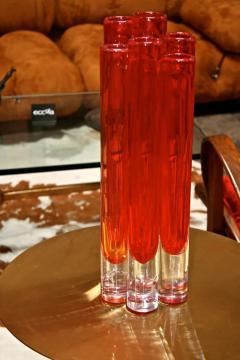Italian Red Vase from Murano - 500520