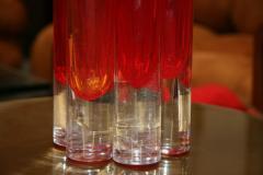 Italian Red Vase from Murano - 500523
