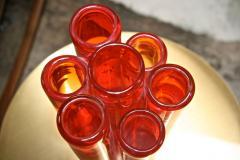 Italian Red Vase from Murano - 500524