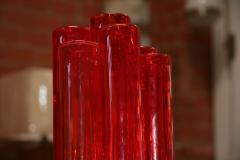 Italian Red Vase from Murano - 500525