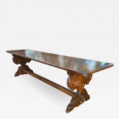 Italian Refectory Table Circa 1850 - 1913198