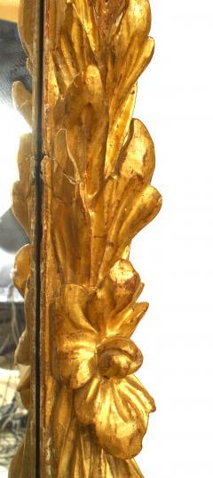 Italian Rococo 18th Cent Gilt wood Wall Mirror - 743864