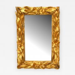Italian Rococo 18th Cent Gilt wood Wall Mirror - 745052