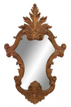 Italian Rococo Carved Fruitwood Wall Mirrors - 1399243