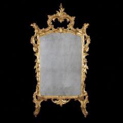 Italian Rococo Carved Gilt Wood Mirror - 2118499