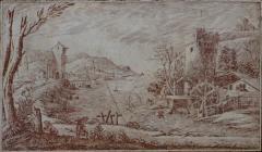 Italian Scagliola Panel - 313041