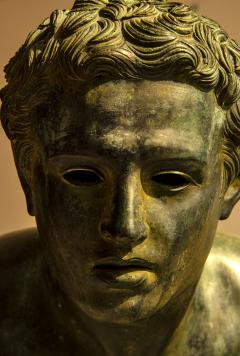 Italian School Nude Male Runner Classical Bronze After the Antique - 1206020