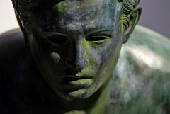 Italian School Nude Male Runner Classical Bronze After the Antique - 1206022