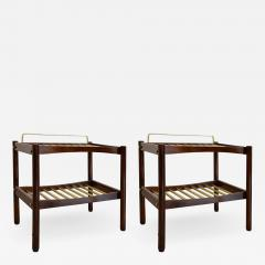 Italian School Pair of Luggage racks - 1336882