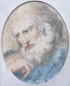 Italian School Portrait of a Head  - 1726163