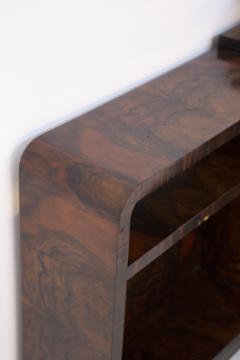 Italian School Rationalist Italian Vintage Sideboard in Walnut and Bakelite - 2052949