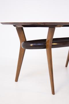 Italian School Vintage Dining Table in Fine Italian Wood 1950s - 2054635