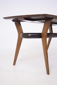 Italian School Vintage Dining Table in Fine Italian Wood 1950s - 2054637