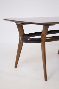 Italian School Vintage Dining Table in Fine Italian Wood 1950s - 2054639