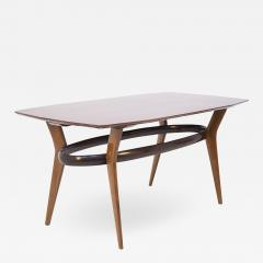 Italian School Vintage Dining Table in Fine Italian Wood 1950s - 2055272