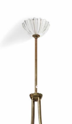 Italian Six Light Chandelier 1940s - 1934585