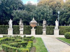 Italian Stone Garden Sculptures of Roman Mythological Subject Minerva - 1661334
