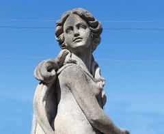 Italian Stone Garden Sculptures of Roman Mythological Subject Minerva - 1661336
