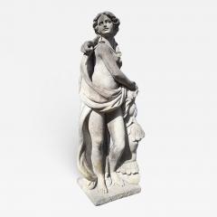 Italian Stone Garden Sculptures of Roman Mythological Subject Minerva - 1662418