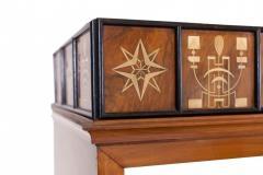 Italian Walnut Art Deco Vitrine 1930s - 856188
